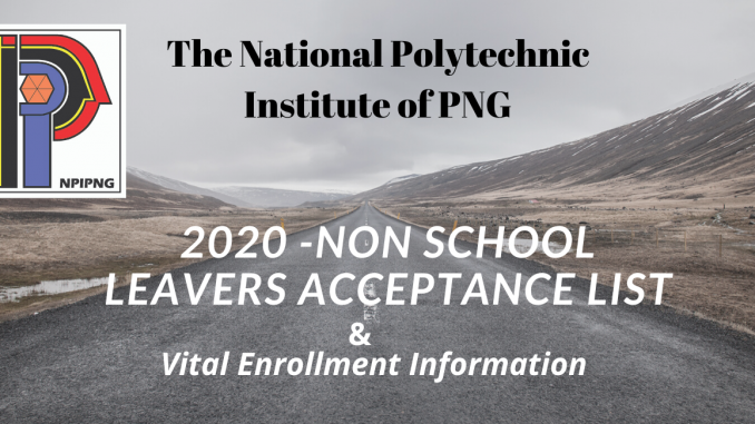 The National Polytechnic Institute of PNG