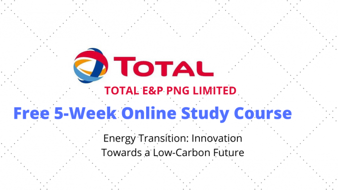 Total E&P PNG Limited Mooc Course