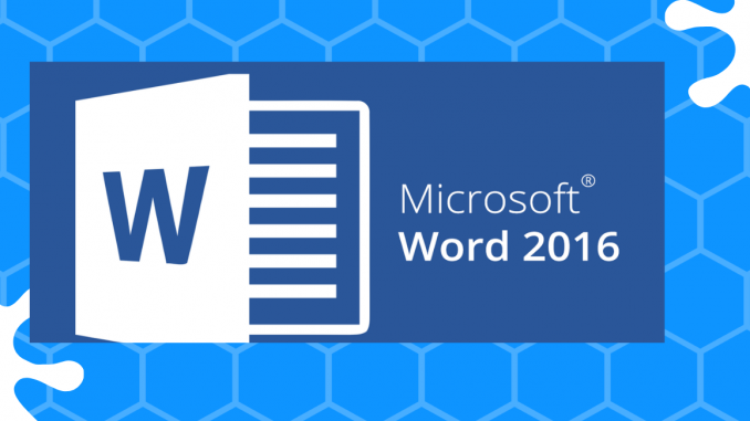 Word 2016 tips and tricks