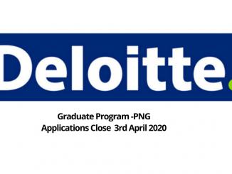 Deloitte PNG Graduate Program