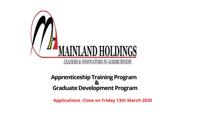 Mainland Holdings Graduate Program