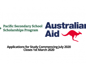 Pacific Secondary Schools Scholarships