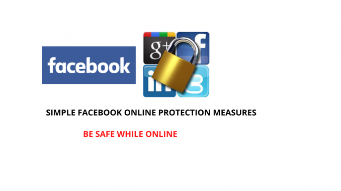Protection while on Facebook