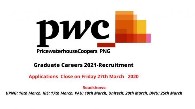 PWC Graduate Careers 2021