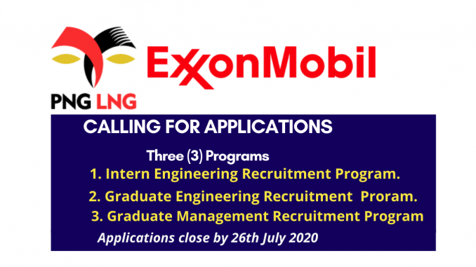 ExxonMobil Intern & Graduate Engineering Recruitment Program
