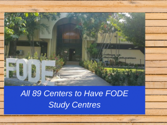 PNG FODE Study Centers