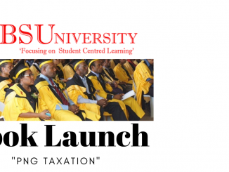 "IBS University Launches Book ""PNG Taxation"""