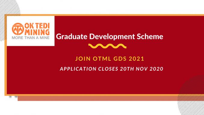 OKTEDI Mining Graduate Development Scheme OTML GDS-2021