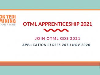 OKTEDI Mining Limited Apprenticeship 2021