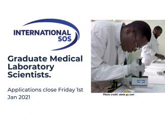SOS International Graduate Medical Laboratory Scientists to work in Lihir