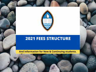 UPNG Fees for 2021