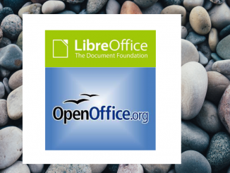 OpenOffice and Libre Office