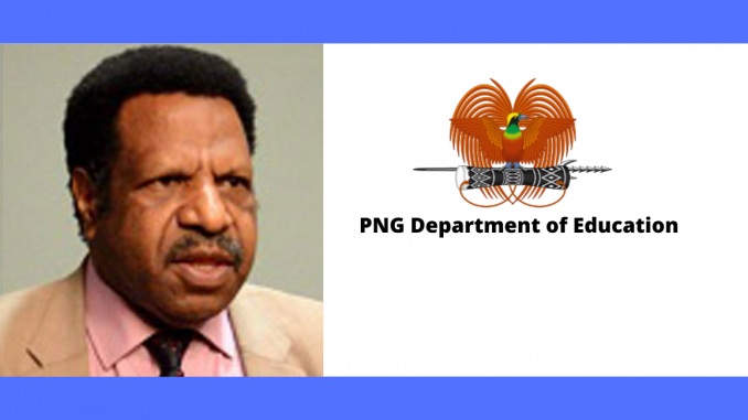 PNG Dept of Education to charge Teachers Colleges Principals for accepting students with falsified documents.